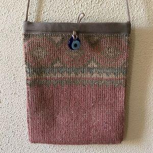 Boho Turkish Rug Crossbody Handbag